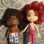 Лотом две куколки Землянички ( Шарлота Земляничка )