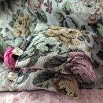 Плед и подушки для кукол
