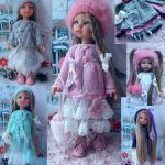 Комплект одежды для Паолы . Paola Reina
