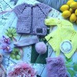 Сиренево-лимонный комплект для Блайз/Blythe