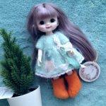 Валенки для маленьких кукол типа Баболи/ Baboliy