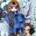 Платье и шапка для куклы Baboliy/Баболи