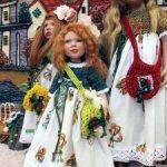 «Бабочки-2» для кукол ростом около 45 см. Zwergnase