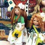 «Бабочки-3» для кукол ростом около 50 см. Zwergnase