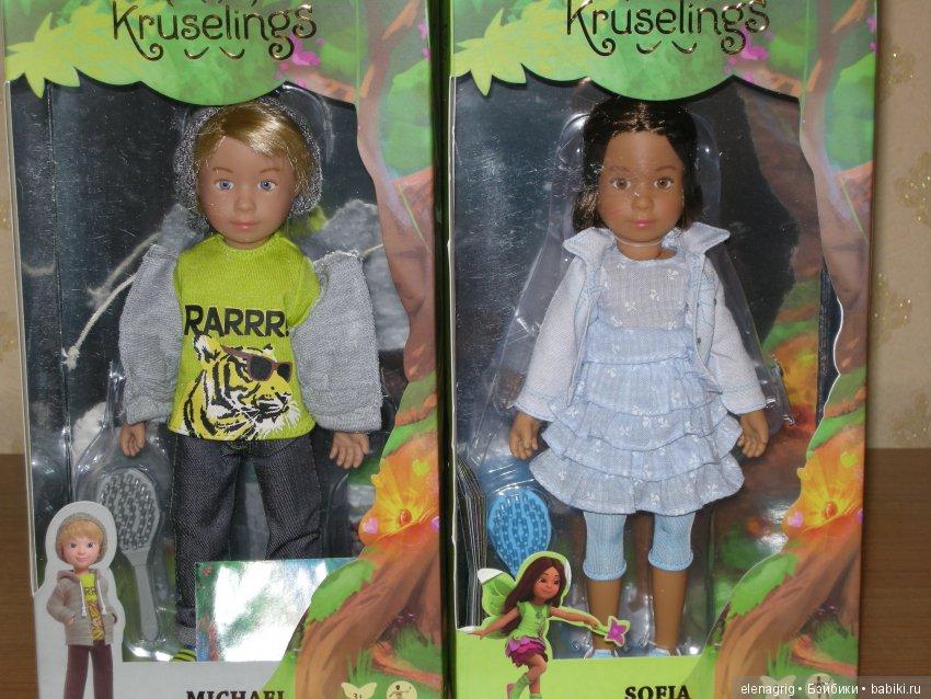 Сладкая парочка  София и Микаэль Kruselings от Kathe Kruse   Kathe ... 35240921881