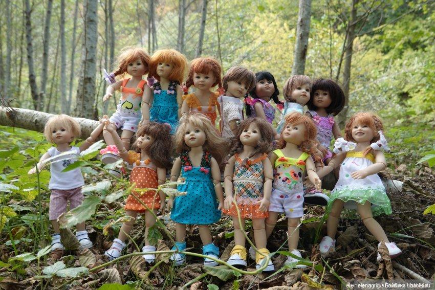 куклы Heidi Plusczok dolls, Хейди Плюсчок