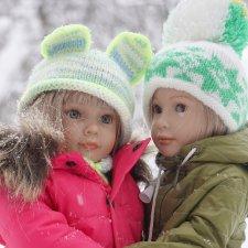 И рады мы зиме и снегу