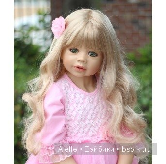 RARE Masterpiece Dolls Coco Blonde GREEN Eyes By Monika Levenig Collectible Doll