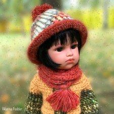 Осенние шапочки для кукол Llorens
