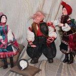 Авторские куклы. Вечера на хуторе близ Диканьки