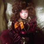 Маленькая Пампадур - авторская кукла IraKALI