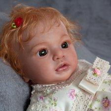 Julietta Awake by Natali Blick, Reborn by Jenny Gall, Джульетта , Куклы Реборн Дженни Галль