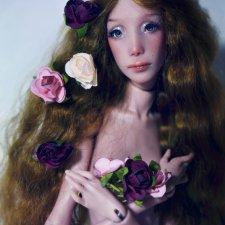 Моя авторская шарнирная кукла Philippa, ViePoupee