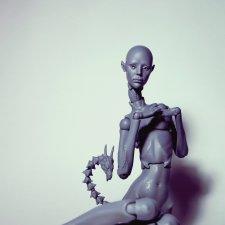 Предзаказ на полиуретановую шарнирную куклу Лурруюнг
