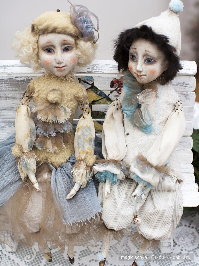 Ольга Боро, балаганная кукла, подвижная кукла, ООАК