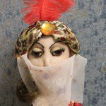 Авторская кукла Шехерезада