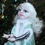 Авторская кукла Снегурочка