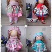 кукла текстильная интерьерная Бережнова Екатерина
