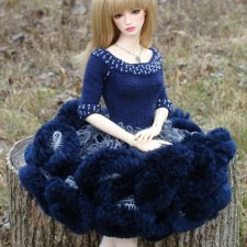 Iplehouse  FID BJD dolls. MSD BJD. Платья вязаные для Иплхаус  ФИД. Handmade. Цена с доставкой.