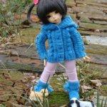 Комплекты одежды для Fairyland Littlefee. Outfits for YOSD Tiny BJD. Цена с доставкой. Подарки.