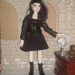Шарнирная кукла Леди ситх. Начало