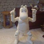 Муми-семейство. Шарнирная кукла Муми-тролль