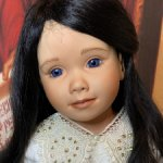 Нежная девочка ручной работы с улыбкой Моны Лизы' Старая цена -29500