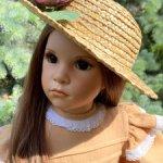 Сузи-солнечная, авторская девочка! Только сегодня, при единовременной оплате!Старая цена-33500!!!