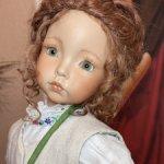 Эмили- авторская девочка выполненная по молду Дианны Эффнер. Старая цена 23500!