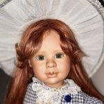 Маленькая леди! София-авторская кукла, ручной работы. Старая цена 36000