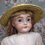 Антикварная девочка Kestner 164, большая