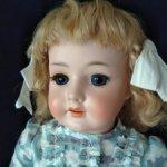 Антикварная кукла Bergmann 1916/6