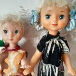Продам лотом кукол СССР,паричковых.