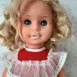 Продам Куколку ГДР с зубками.Номерная.Demusa Puppen.Ямочка на подбородке.
