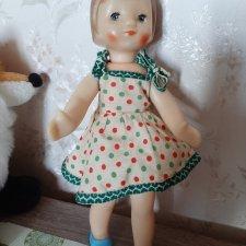 Продам рельефную куколку СССР.