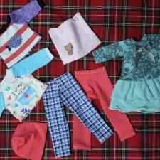 Набор№11 из 7-ти предметов новой одежды для Паолочек,Дарлинг и др.кукол 32-34см