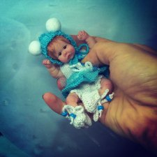 Silicone baby doll by Victoria-Vihareva-Pechenkina