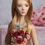 Авторские шарнирные куклы JRDolls. Аглая в образе
