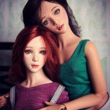 Мои новые шарнирные куклы