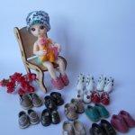 Обувь для шарнирных  малышек Babjli-чек
