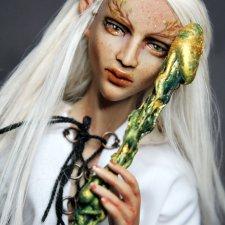 Немного эльфийской магии... мужской... Есть фото НЮ