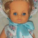Винтажная кукла, ГДР, 70 ые годы