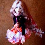 Ангелина, шарнирная кукла мечтающая о чуде