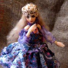 Инфанта Оливия. Шарнирная кукла
