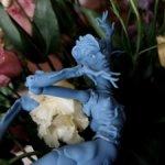 Sybil, 24 cm, blue. Авторская, шарнирная, Елена Калягина.