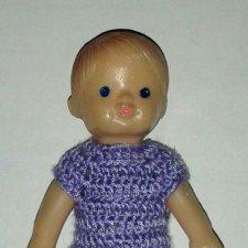 Одежда для куклы 7 см
