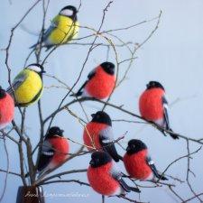Птичий букет