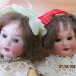 Антикварные мини-куколки,миньонетты