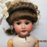 Антикварная мини-кукла,от фабрики Марсель.