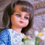 Винтажная кукла в новом образе